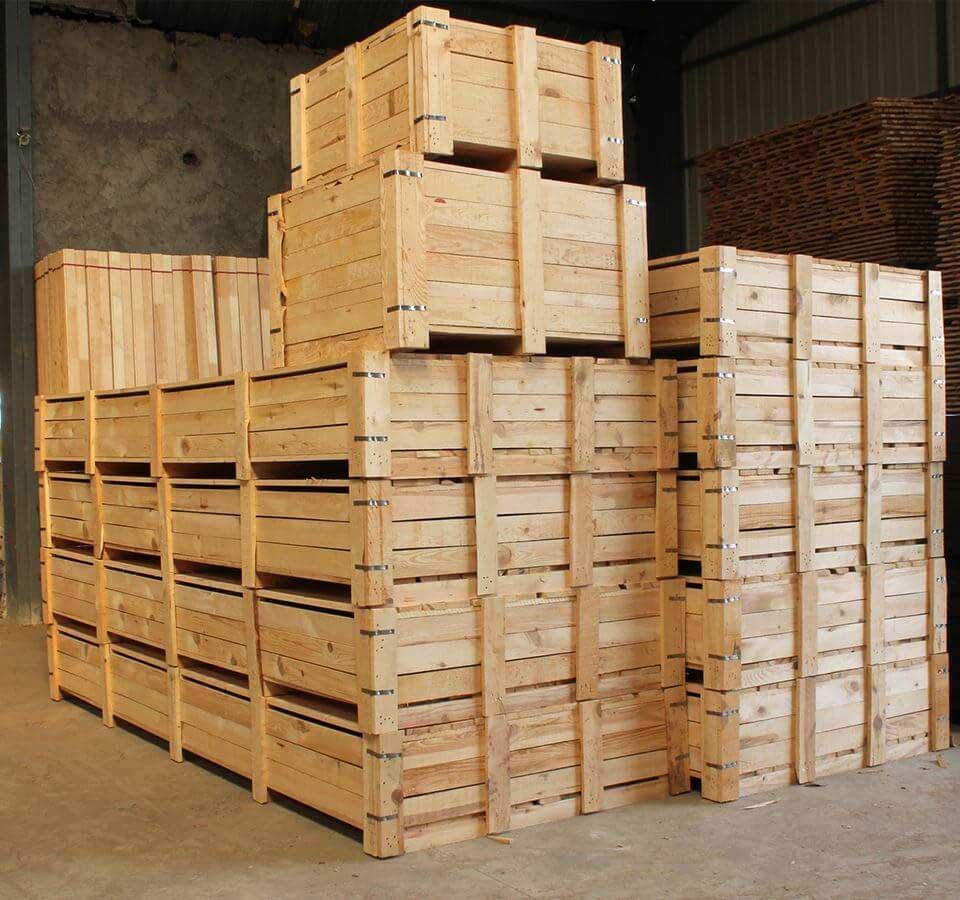 Деревянная тара, ящики из дерева, ДВП и фанеры