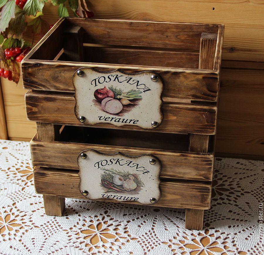 ящики для декора